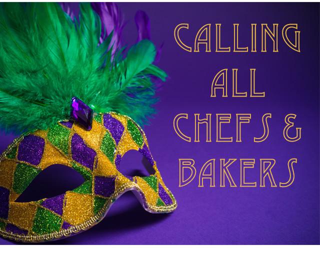 Mardi Gras Baking
